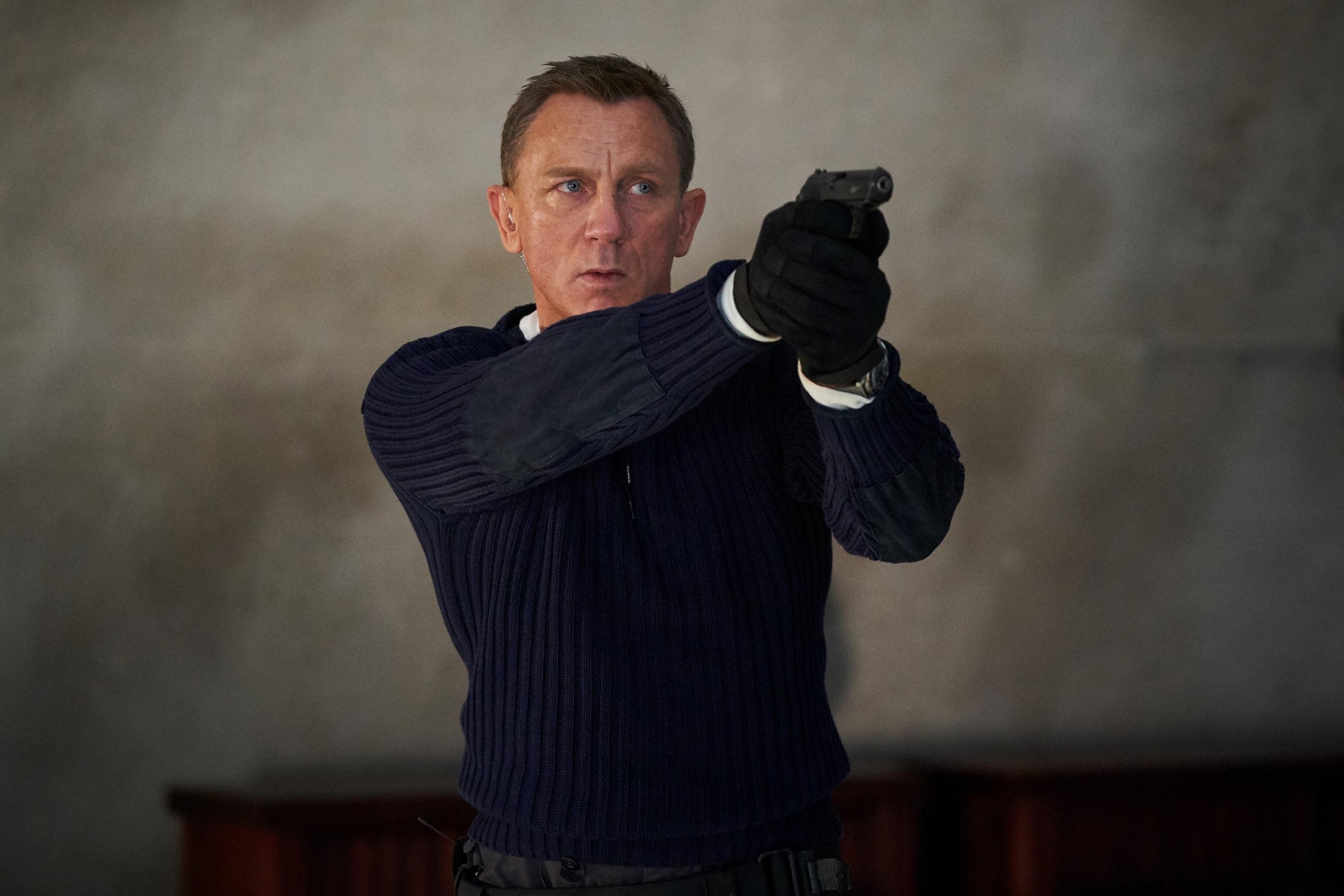 Daniel Craig se despide de su personaje de agente 007 con este filme.