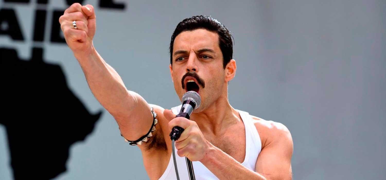 Malek se transformó en Freddie Mercury en 'Bohemian Rhapsody'.