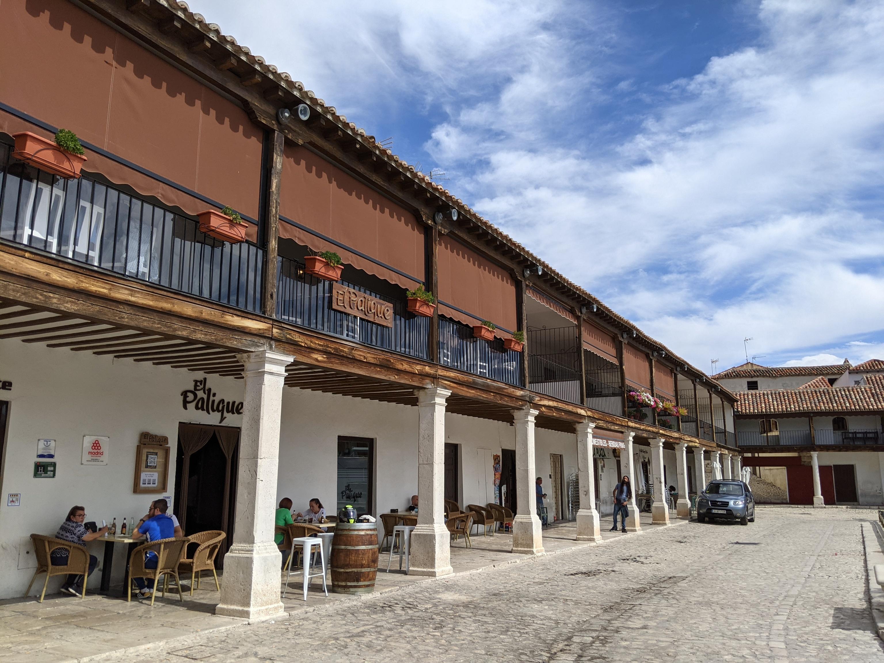 La plaza Mayor de Colmenar de Oreja.