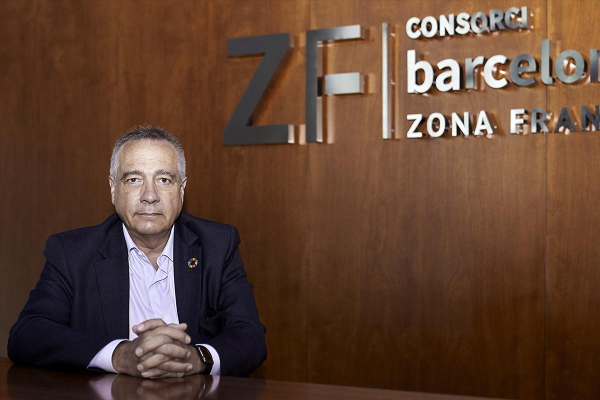 Pere Navarro, delegado del consorcio de la Zona Franca de Barcelona