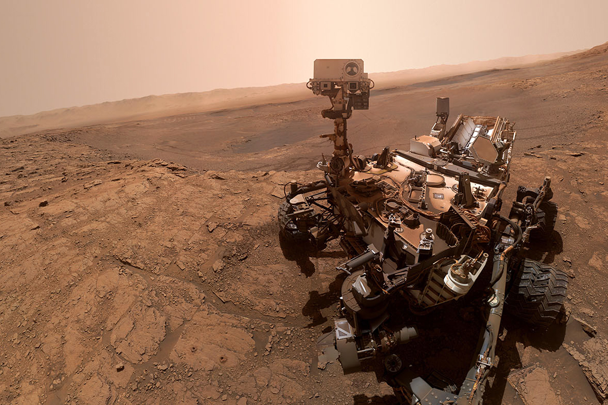 El robot Curiosity de la NASA
