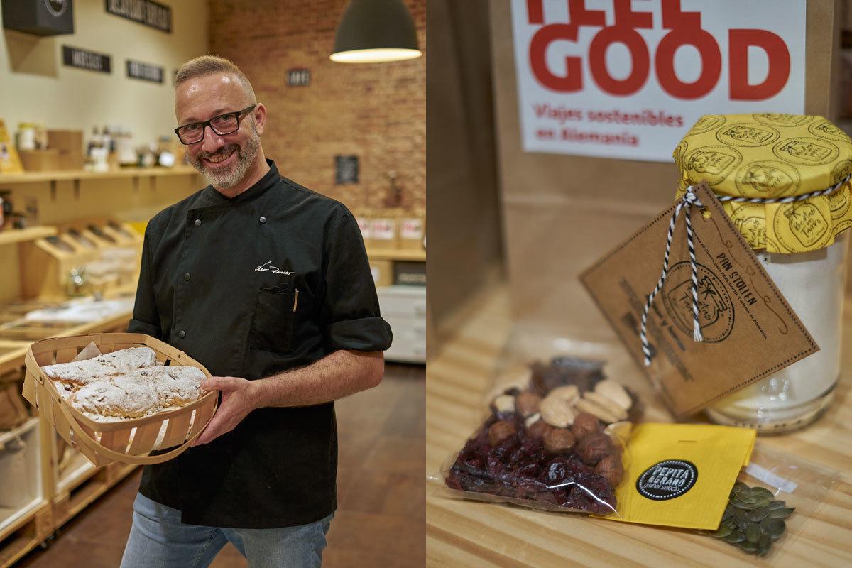 El chef Leo Ruocco ha preparado la receta de pan para Pepita & Grano.