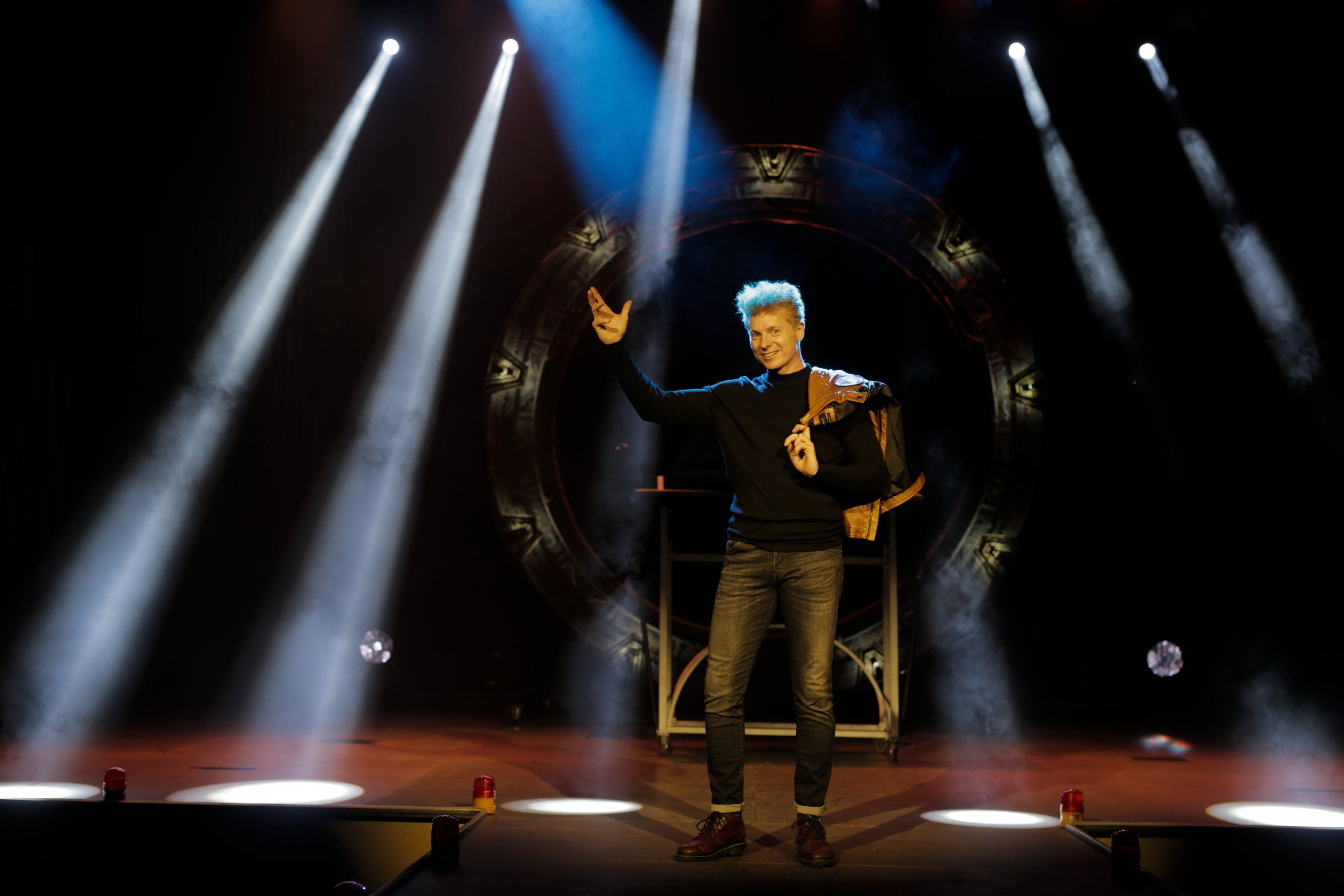 Salvador Vicent es es uno de los grandes ilusionistas de la esfera internacional.