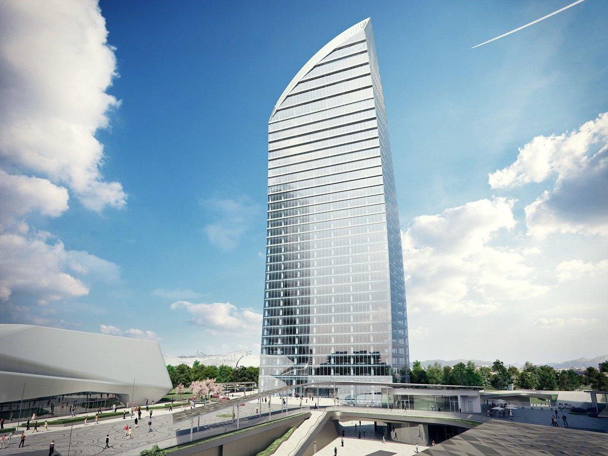 La nueva Torre Libeskind de Milán.