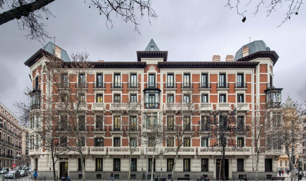 Promoción de viviendas en el centro de Madrid.