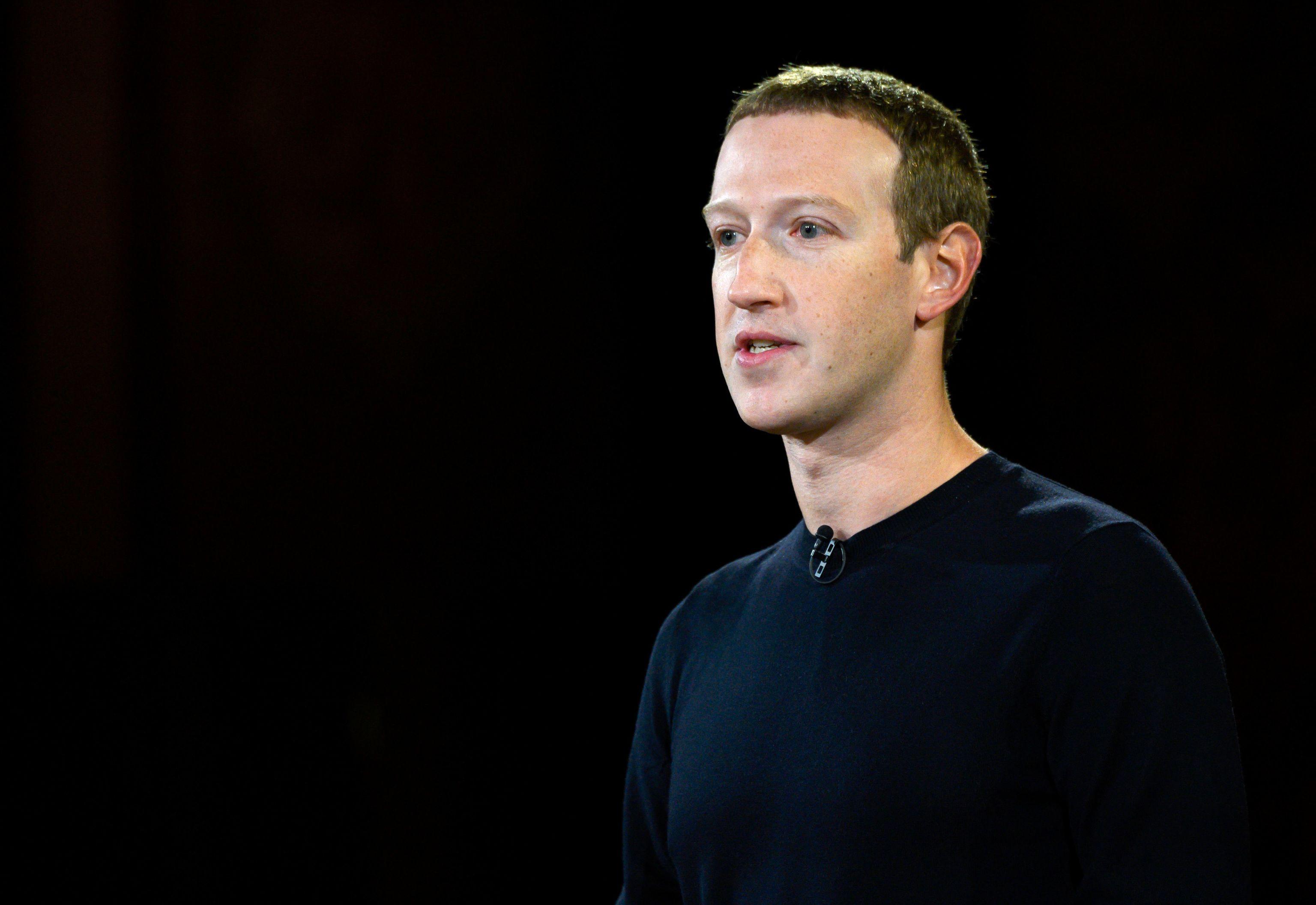 El CEO y fundador de Facebook, Mark Zuckerberg, en una imagen de 2019.