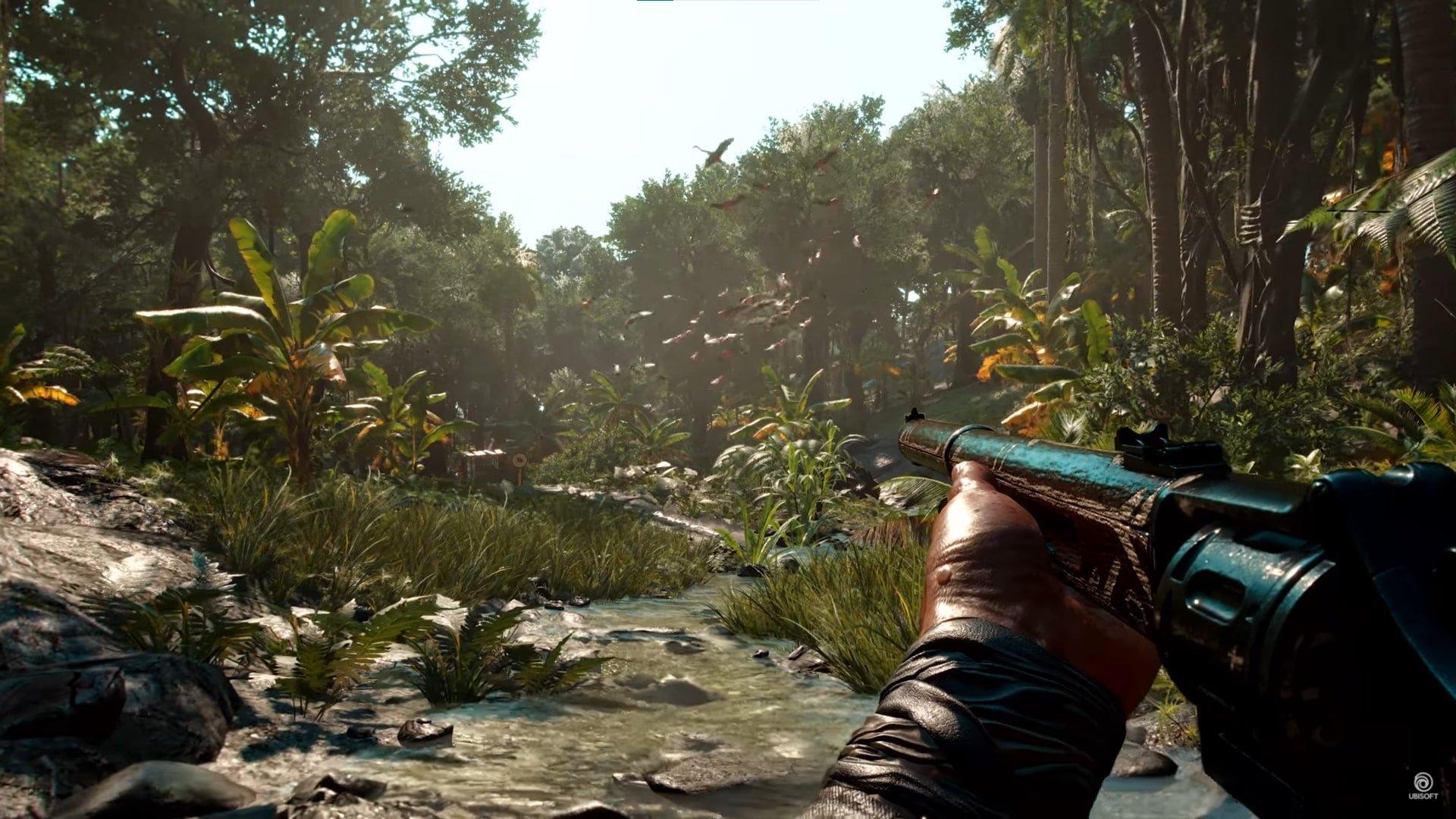 Selva caribeña en Far Cry 6.