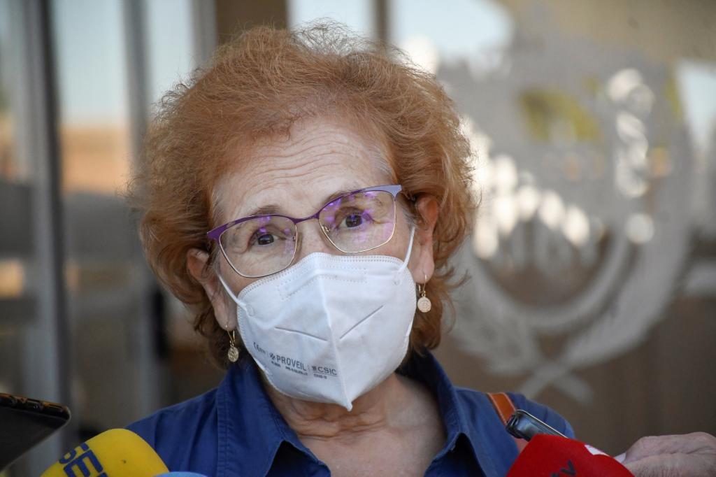 Margarita del Val, este jueves en Segovia