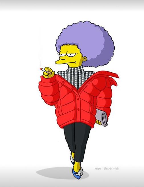 Así vistió Balenciaga a los personajes de los Simpson para el fashion film que presentó en su desfile primavera-verano 2022 en París.