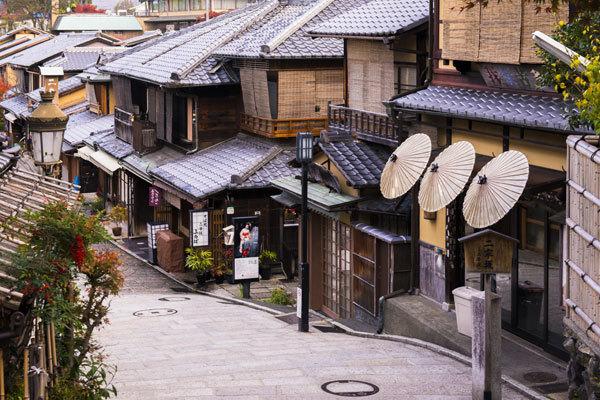 En las calles de Kioto también se respira el otoño.