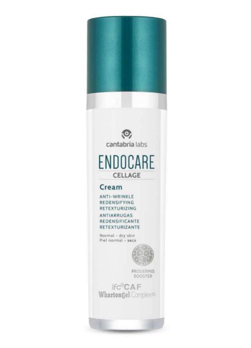 5 cremas de día de farmacia para usar a partir de los 40 que tratan manchas, arrugas y flacidez: Endocare Cellage de Cantabria Labs