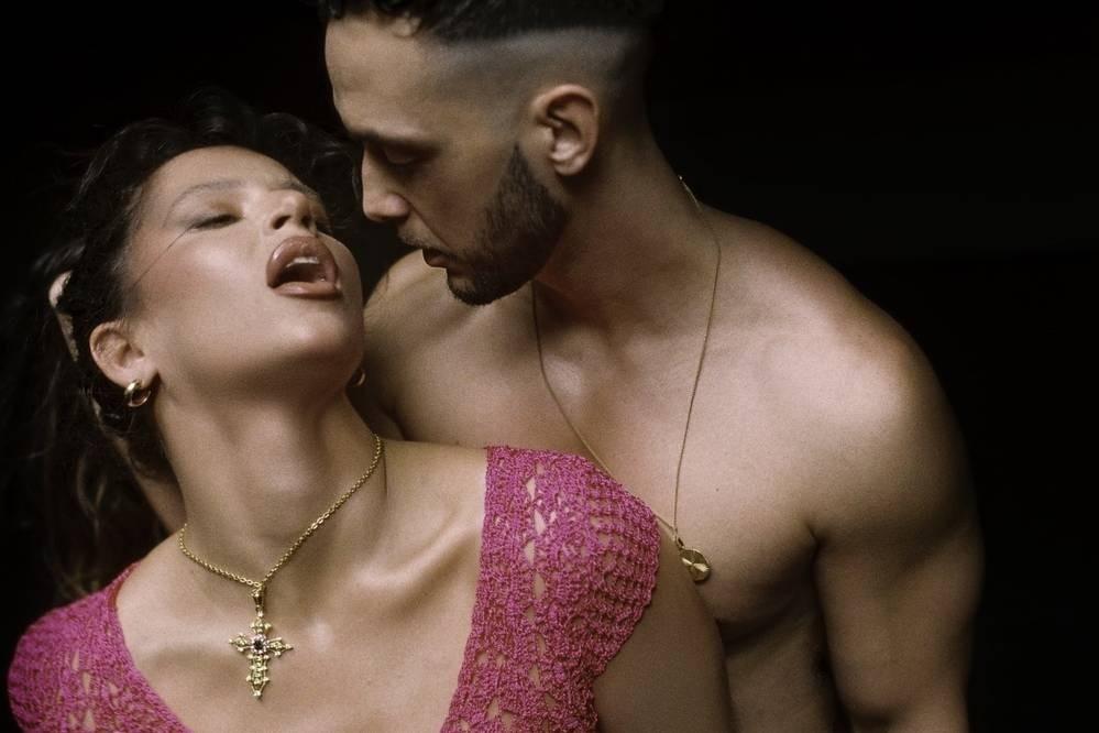 Nathy Peluso y C Tangana en una portada del Videoclip Ateo.