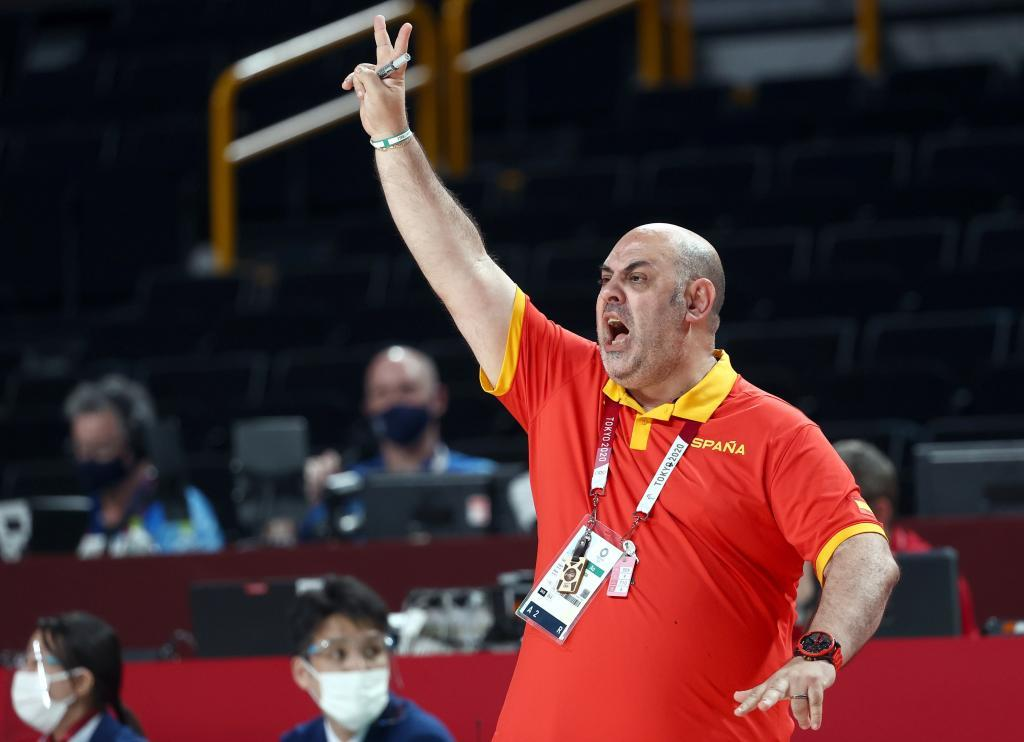 Lucas Mondelo, durante los Juegos de Tokio.