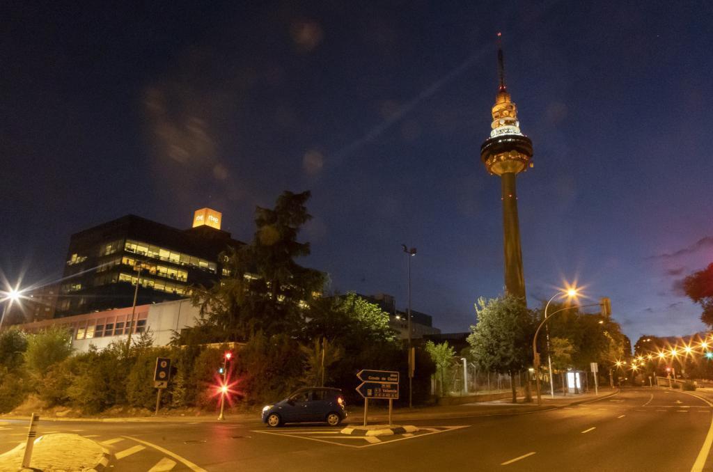 La sede de Torrespaña de RTVE.