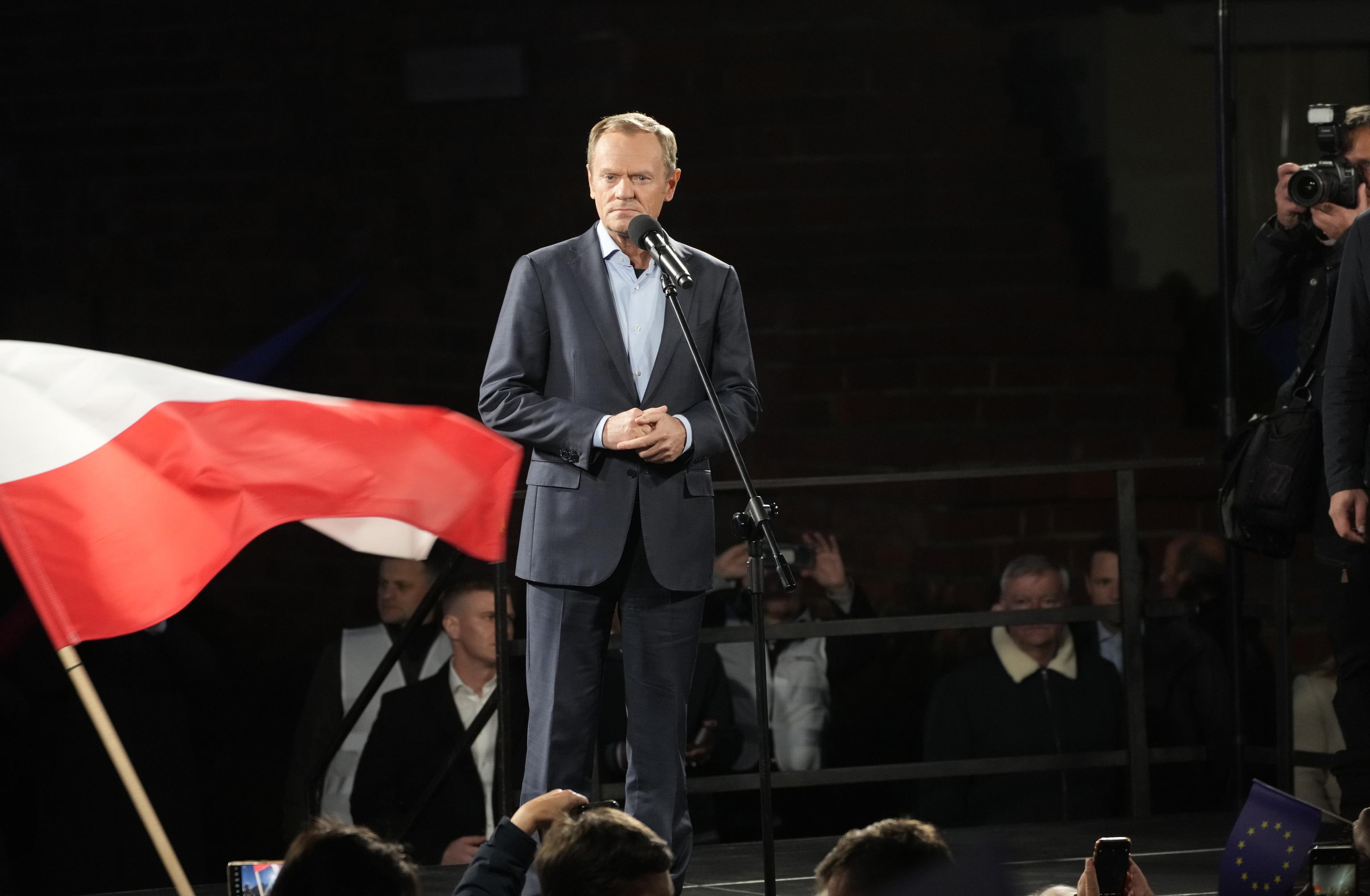 El ex primer ministro polaco Donald Tusk.