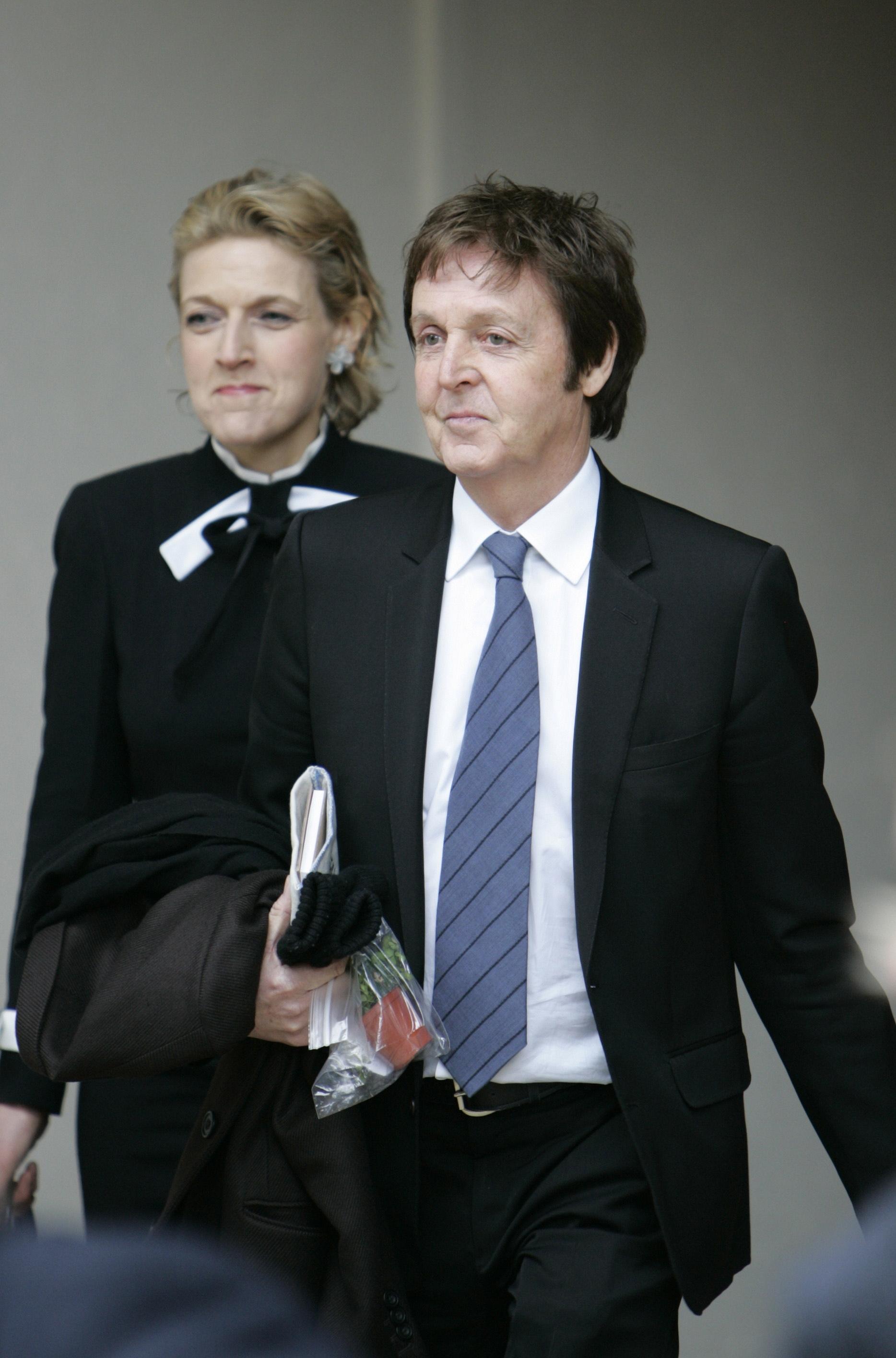 Junto a su cliente, Paul McCartney , en 2008.