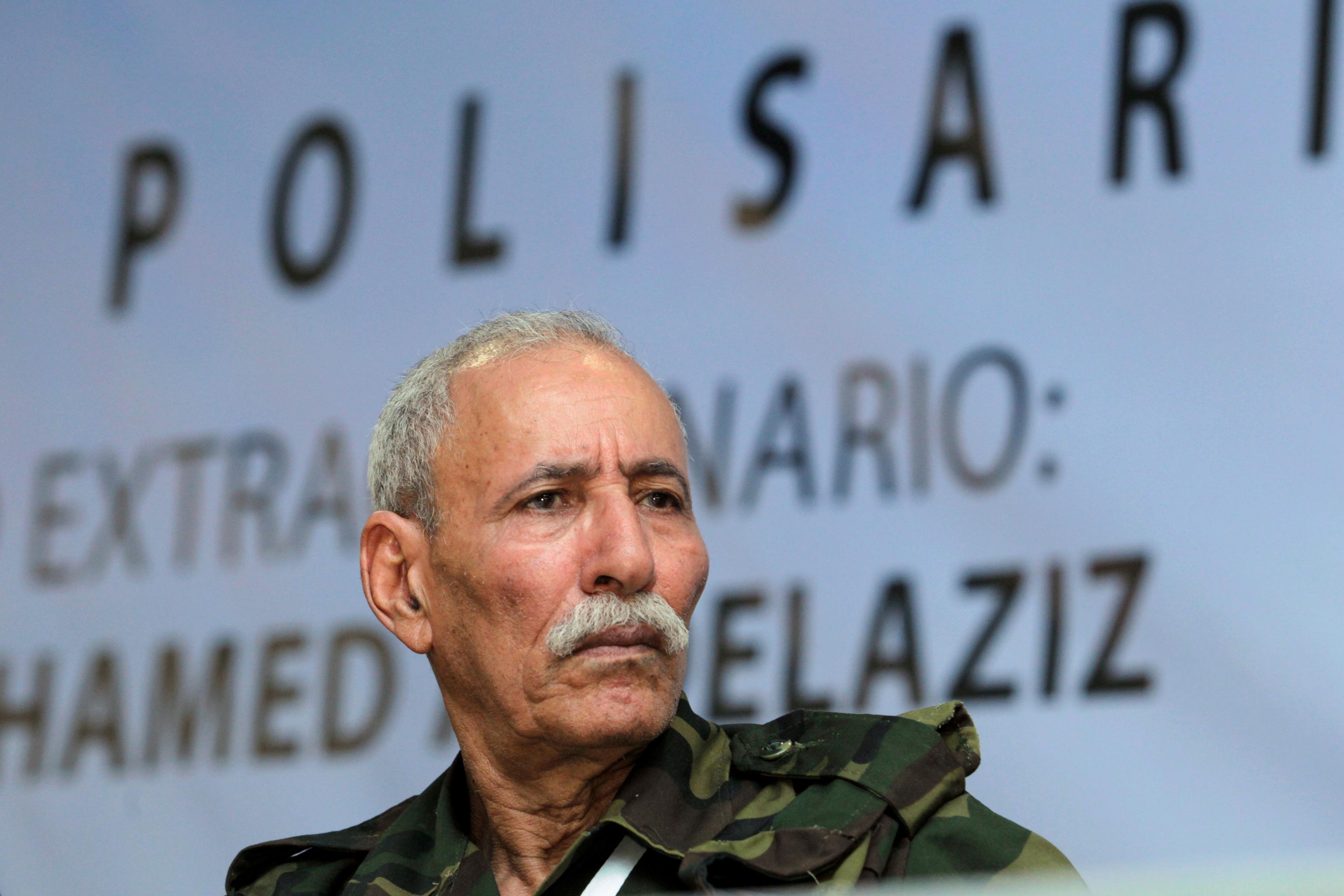 Brahim Gali, secretario general del Frente Polisario