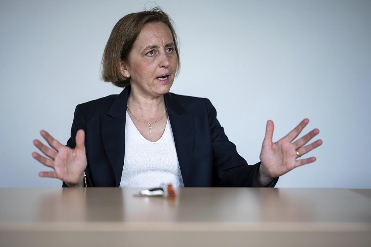 """Beatrix von Storch, vicepresidenta de AfD: """"Si Bruselas hubiese apostado por una Europa de patrias soberanas no habría Brexit"""""""