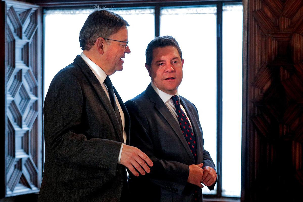 Ximo Puig y Emiliano García-Page.