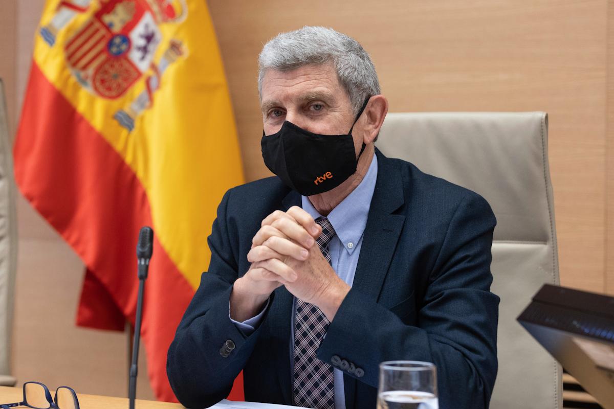 El presidente de la corporación RTVE José Manuel Pérez Tornero.