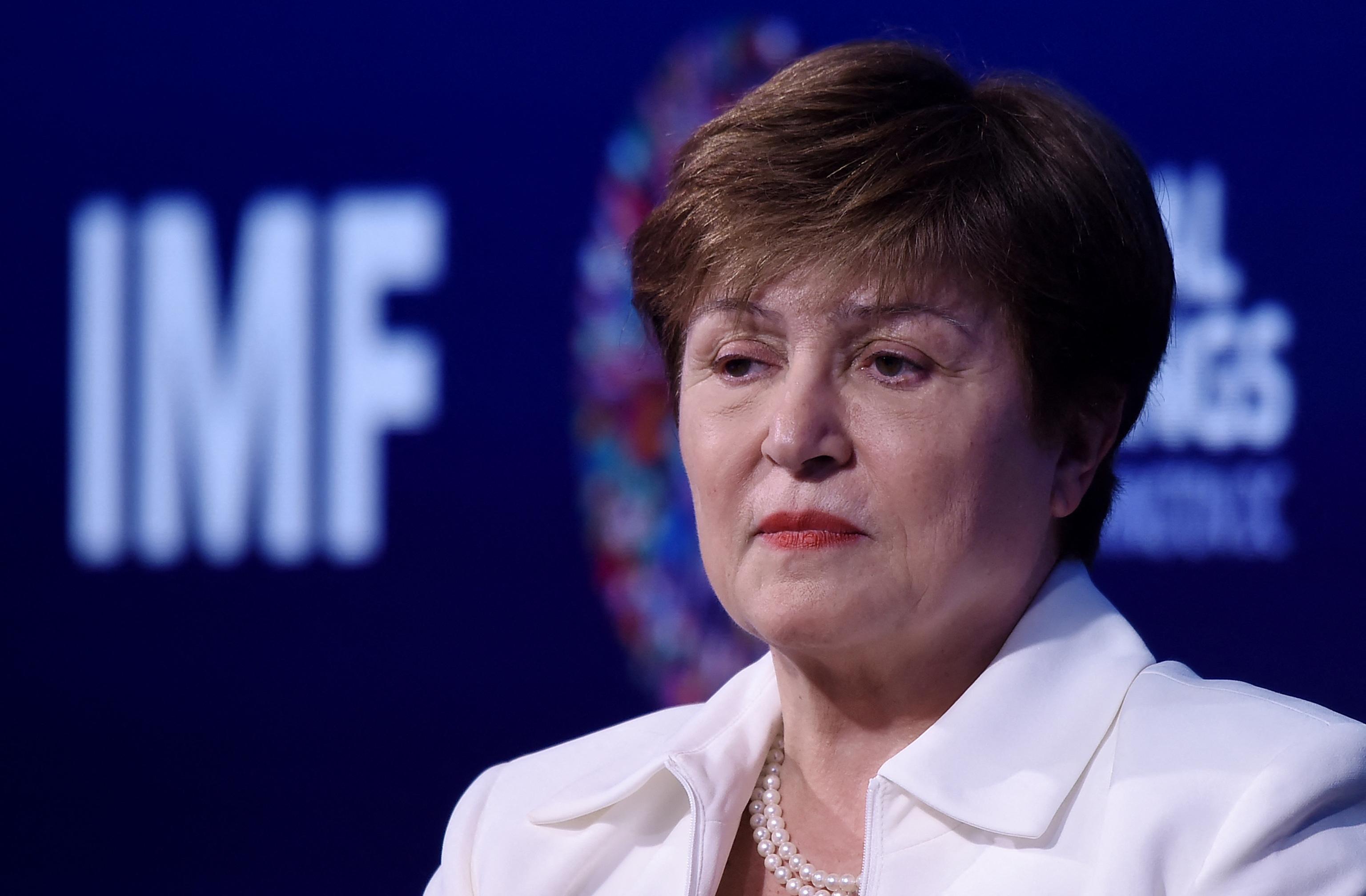 Kristalina Georgieva, directora gerente del Fondo Monetario Internacional.