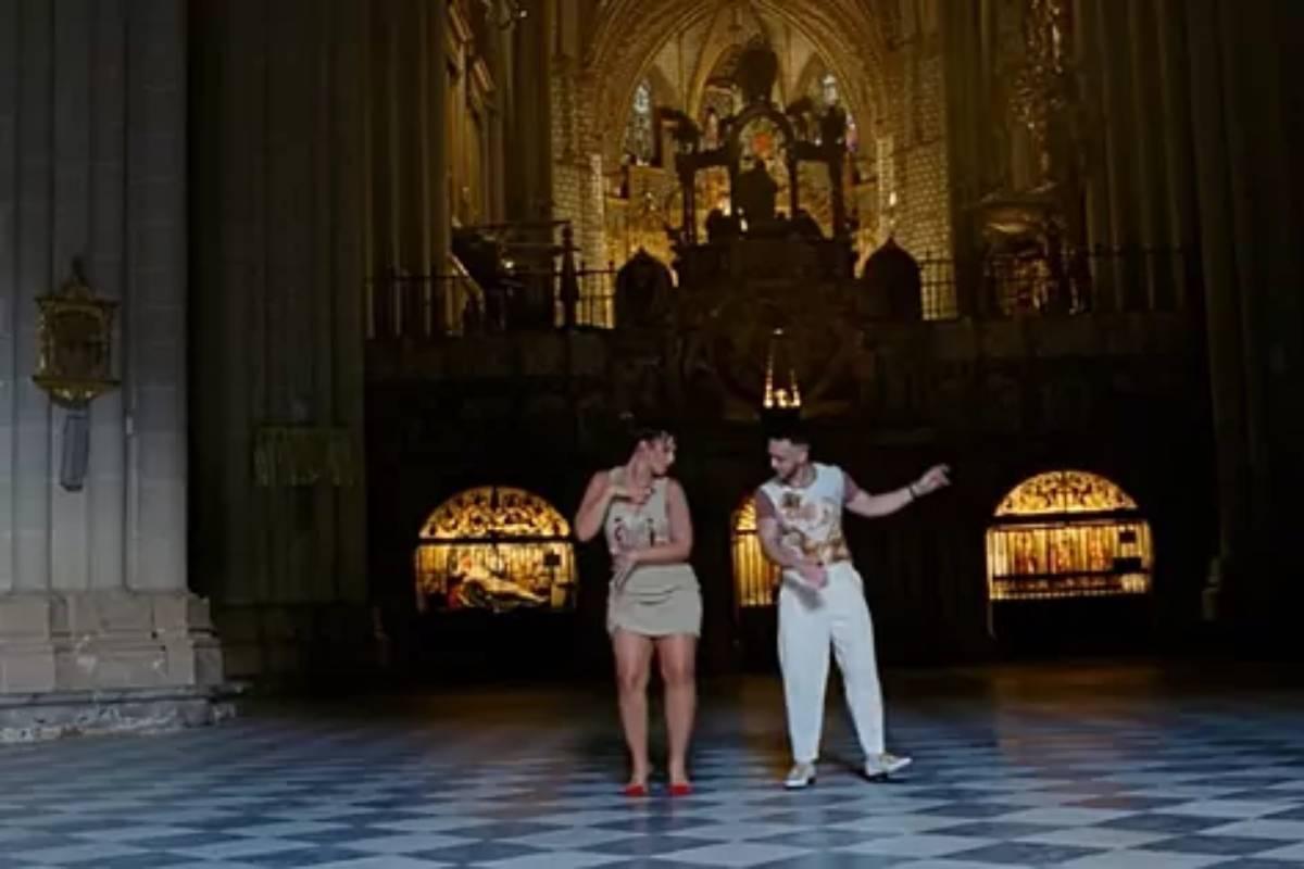 Imagen del videoclip.