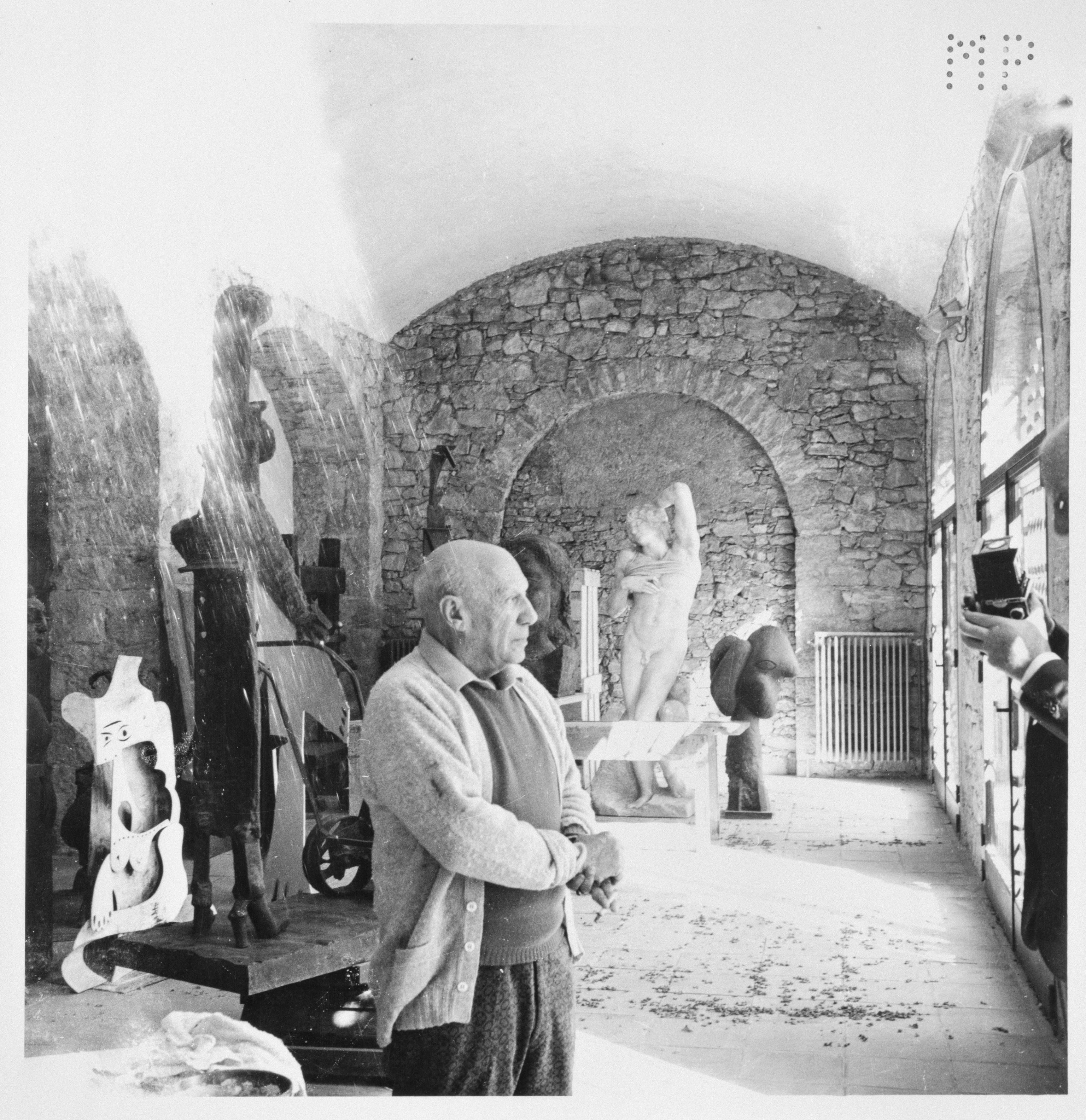 Pablo Picasso, en 1965.