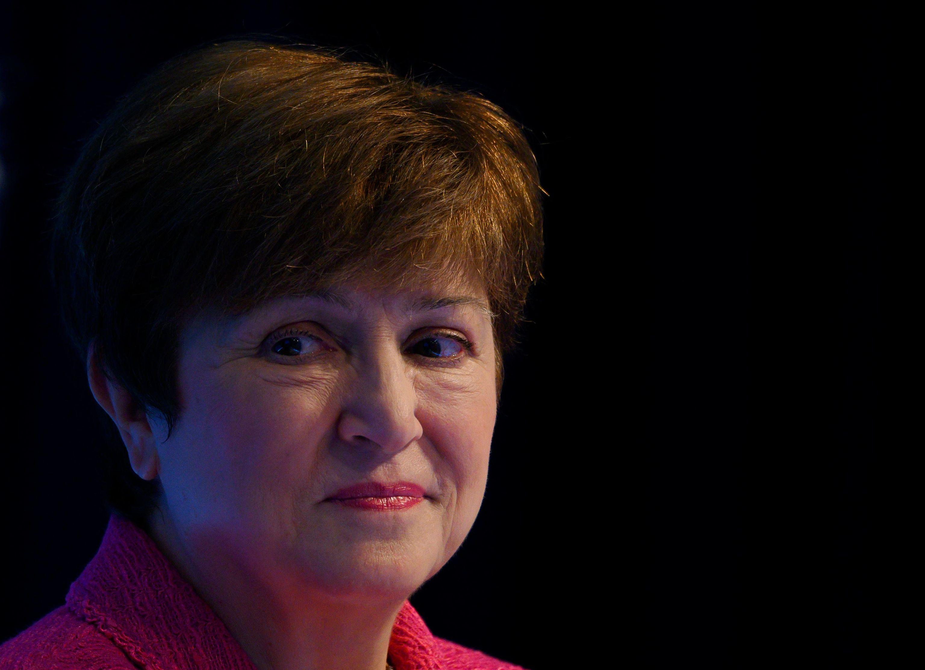 La actual directora gerente del FMI, Kristalina Georgieva.
