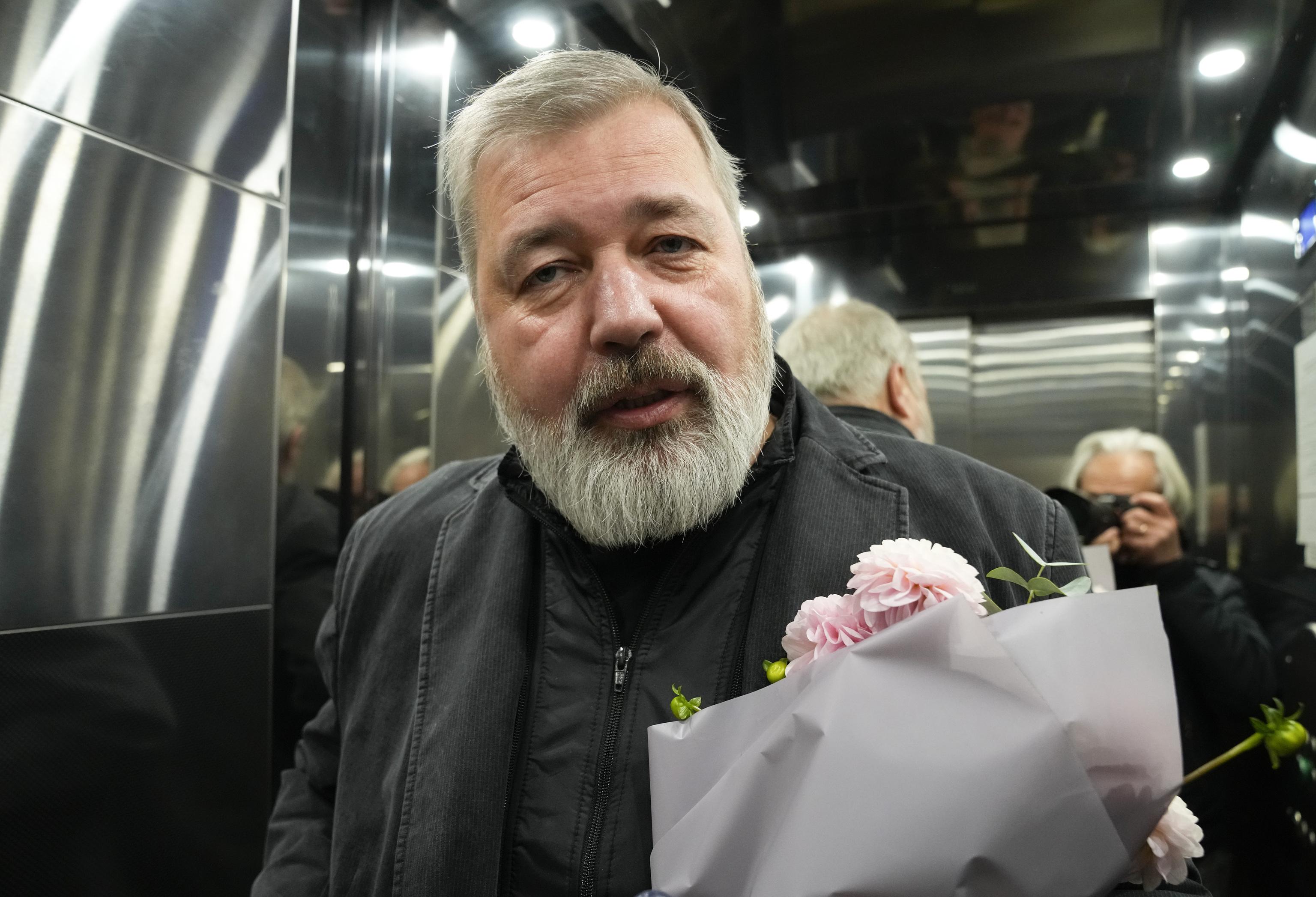 El Premio Nobel de la Paz Dimitri Muratov.