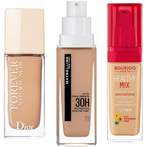 Aquí, 15 bases de maquillaje naturales para todas las pieles.