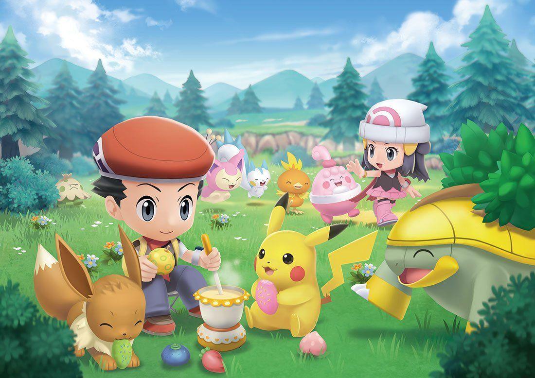 Pokémon Diamante Brillante y Perla Reluciente lucen mejor de lo que parece