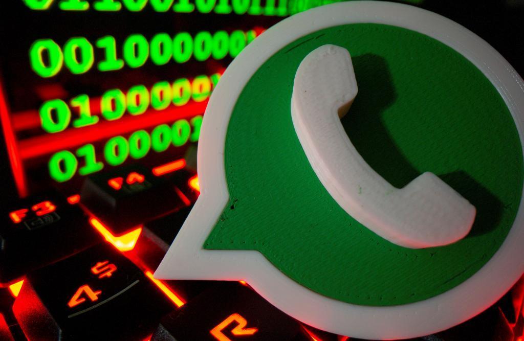 El logotipo de WhatsApp