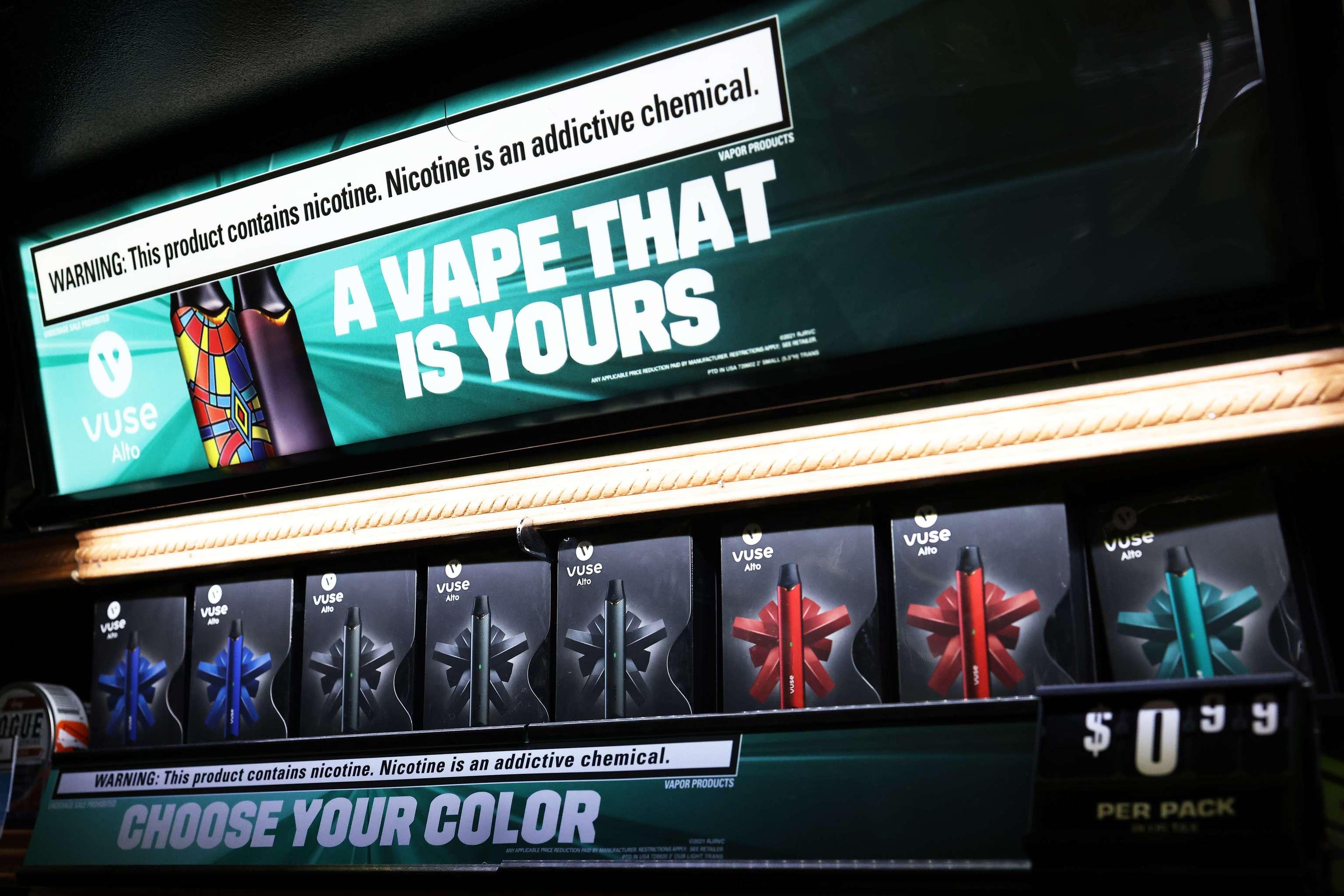 Electr cigarette packs