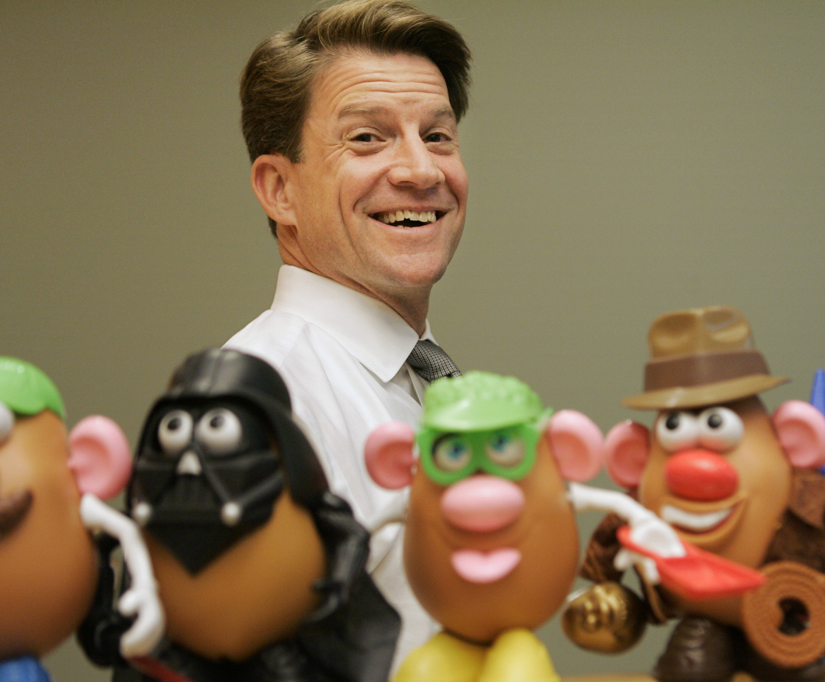 Brian Goldner, director de la compañía Hasbro.