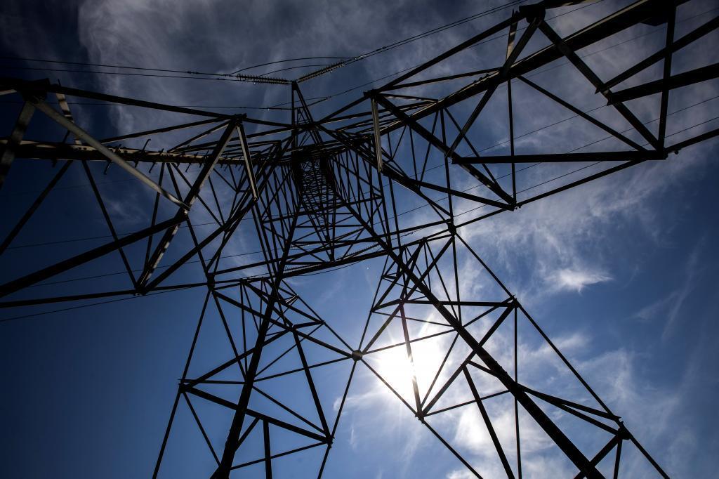 Tendido eléctrico en Madrid