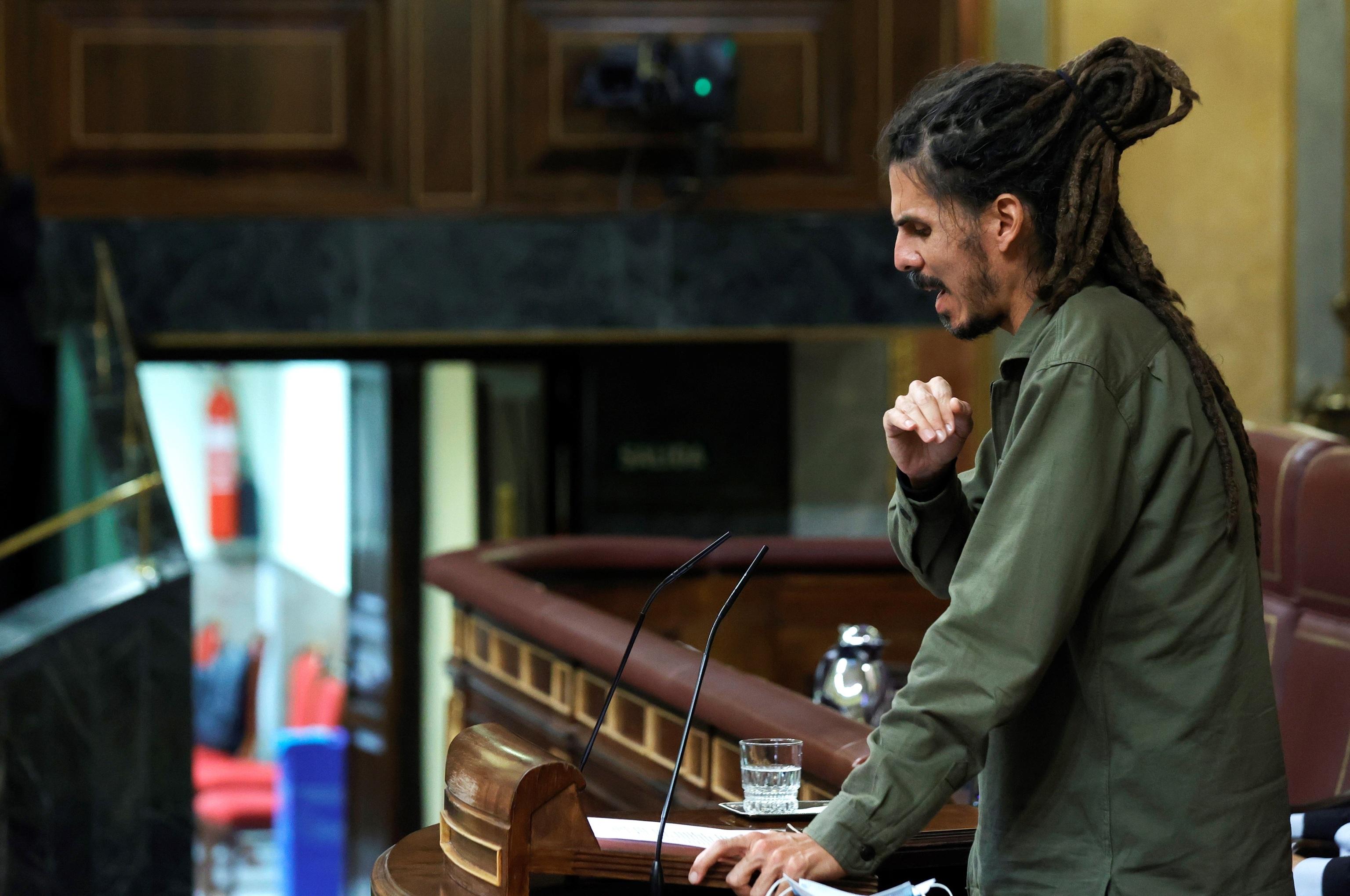 El diputado de Unidas Podemos condenado maniobra para evitar que el Congreso le retire el escaño