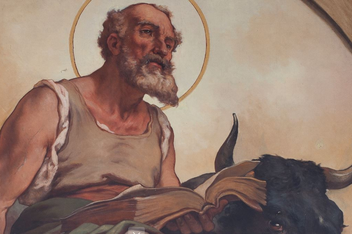 El evangelista San Lucas
