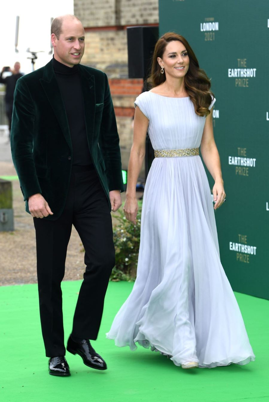 Kate Middleton de Alexander McQueen - Premios Earthshot 2021 en el Alexandra Palace de Londres