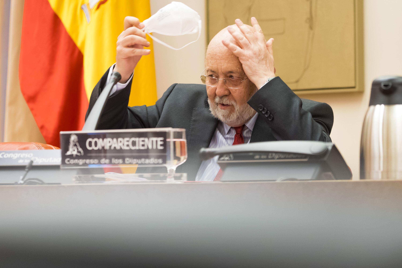José Félix Tezaños, en una comparecencia en el Congreso el pasado junio.
