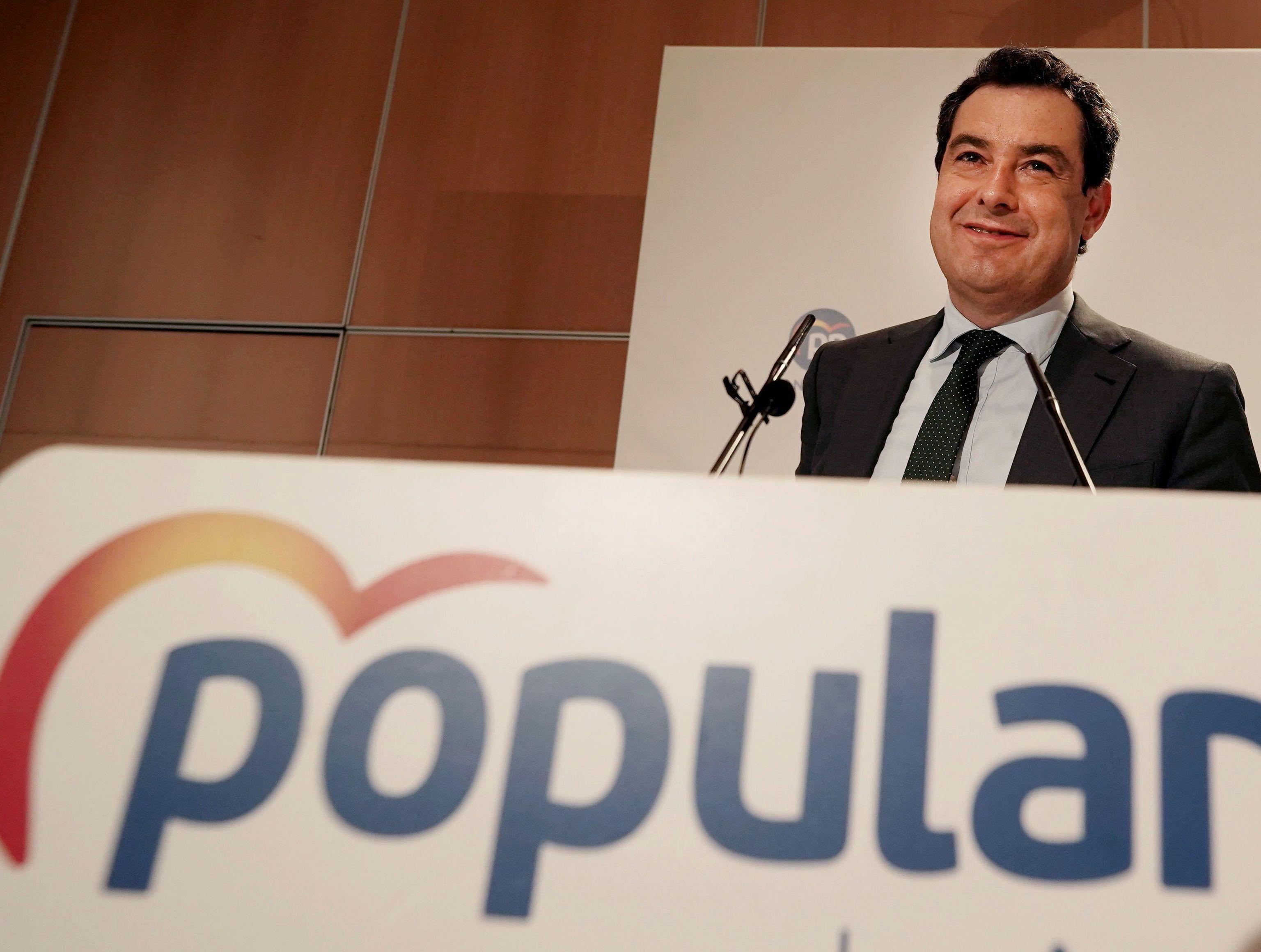 El líder del PP andaluz y presidente de la Junta, Juanma Moreno.