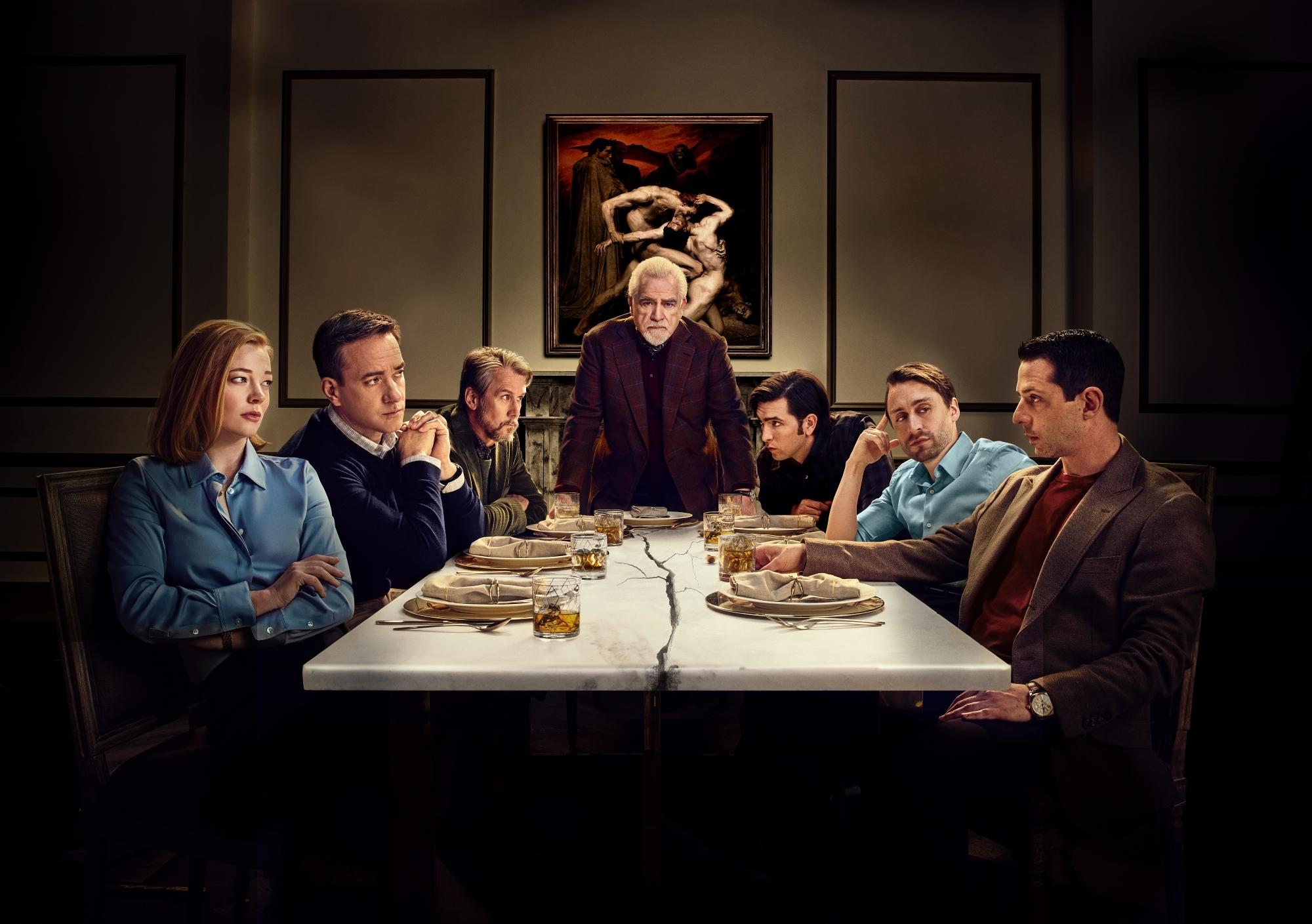 La familia Roy, de la serie Succesion.