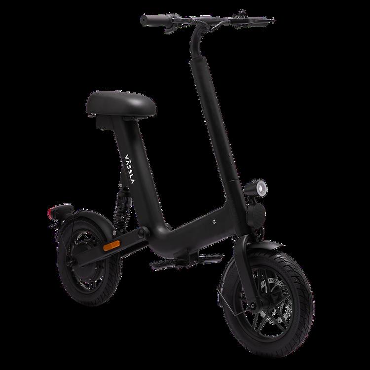 La Vässla Bike es un híbrido entre un ciclomotor eléctrico y una bicicleta.