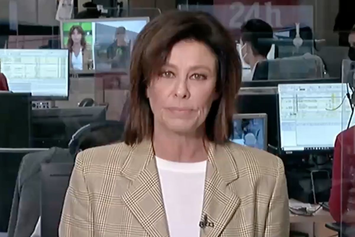 Beatriz Pérez-Aranda en el Canal 24 horas