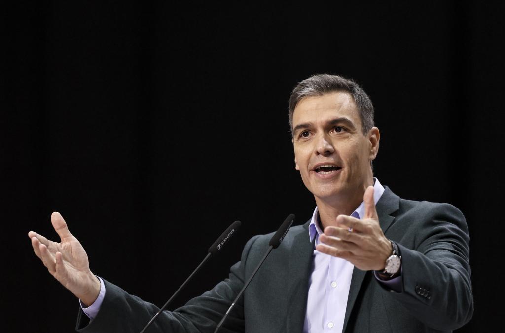 El presidente del Gobierno, en la clausura del Congreso del PSOE.