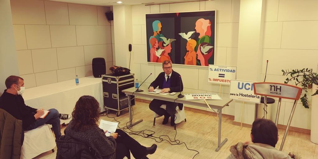 Luis Martí es secretario general de Ashotur y vicepresidente de la CEV Castellón.