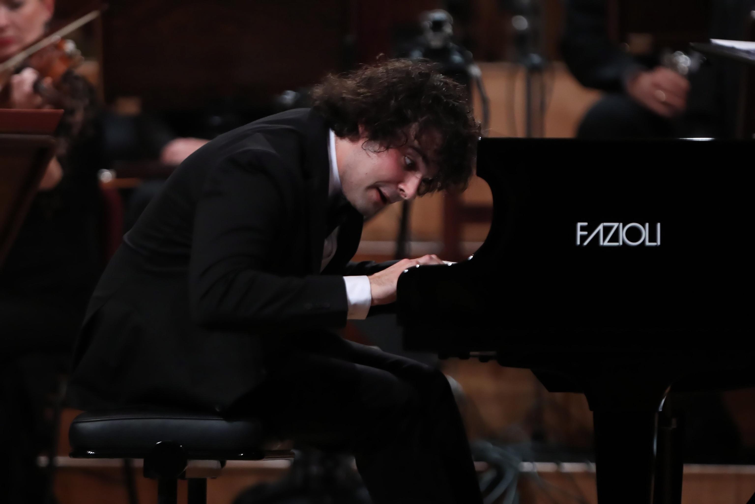 Martin García García, en el Concurso Chopin.