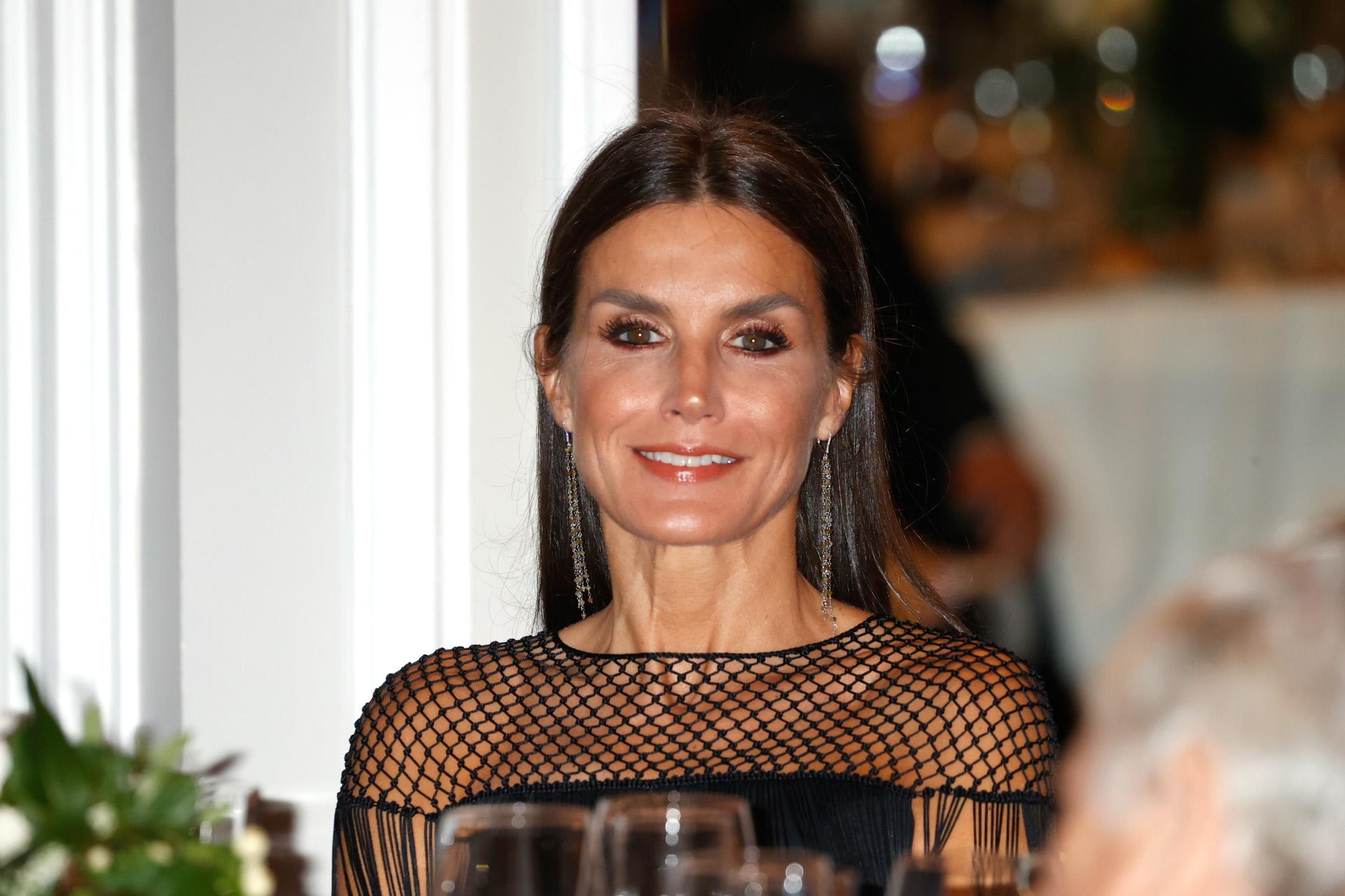 Doña Letizia, este martes en la entrega del Premio Francisco Cerecedo.