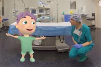 Realidad virtual para reducir la ansiedad de los niños en el quirófano