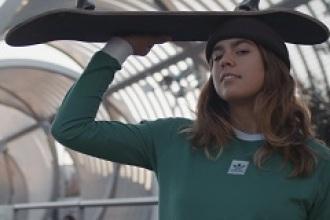 Andrea Benítez, leyenda viva del skate