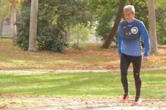 Así es Simeón: 72 años y 79 maratones